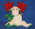 TY MOOSLETOE the MOOSE BEANIE BABY - MINT with MINT TAG