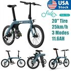 FIIDO D11 Folding Electric Moped Bicycle 20 25km h 3 Modes for Adults Teenagers