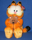 TY GARFIELD HOLDING POOKY CLASSIC -  MINT with MINT TAGS