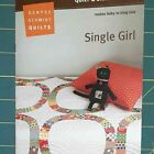 Single Girl Quilt Kit with Acrylic Template Set Sham Pattern  Fabric Included