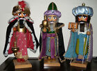 STEINBACH PRAVENT Nutcrackers The 3 Nativity Kings Set Handcrafted in Germany