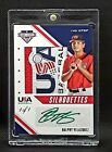 2020 Stars  Stripes Baseball Ralphy Velazquez 1 of 1 Auto  Amazing Patch