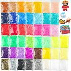 New 36000 Pcs Value Pack Fuse Beads Bulk in 45 Assorted Colors for Kids Crafts