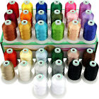 32 Spools Janome Colors Embroidery Machine Thread 1100Y Each Spool Assortment 1