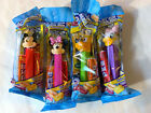NIP Lot 4 Mickey Mouse & Minnie Mouse Daisy & Pluto Pez Candy Dispensers      A