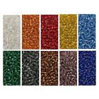 Wholesale Bulk Giant Lot 900g Size 6 0 Glass Seed Beads 10 Silver Lined colors