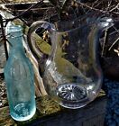 early American pattern glass PITCHER mint