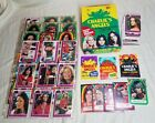 1977 Charlie's Angels Topps Display Box Card Sticker Wrappers Lot Series 4 Cards