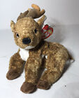 Ty Beanie Baby Roxie The Reindeer With Tag Retired DOB: December 1st, 2000