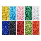 Wholesale Bulk Lot 900g 6 0 Opaque Glass Seed Beads Free Ship 10 AWESOME COLORS