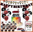 Nelton Birthday Party Supplies For Stranger Things Includes Banner Cake Topper 2
