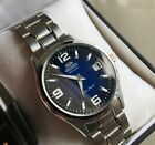 NWT VERY RARE ORIENT CHICANE EXPLORER Automatic BLUE Mens Watch LAST ONE