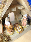Fontanini by Roman 3 Piece Starter Nativity Set with Stable 5 Scale Figurines