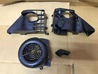SCOOTER 150CC 125CC GY6 CARBON FIBER ENGINE COVERS COMPLETE SET New Style