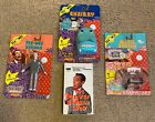 3 Pee-Wee Herman Figures @ 1988 & Pee Wee Herman HBO Video from 1981! Pristine!