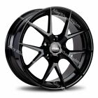Alloy Wheels 17 GTO For Audi A4 A6 A8 TT RS Coupe Roadster Q2 Q3 Q5 5x112 Black