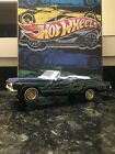HOT WHEELS 1965 CHEVY IMPALA CONVERTIBLE LOWRIDER 118 SCALE DIECAST CAR