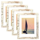 11x14 Poster Frames Wooden Picture Frames Sets with Mat 8x10 Photo Frame 4 Pack
