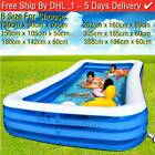 Large Family Swimming Pool Above Ground Pools Inflatable Kids Paddling Pools