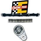 Stage 5 HP Camshaft Kit w Timing Set for Chevrolet SBC 305 350 57L 510 533 Lift