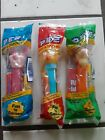 Lot Of 3: Sealed Pez Dispensers Piglet, Tigger, and Lisa Simpson