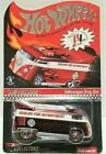HOT WHEELS VW T1 DRAG BUS RLC FIRE DEPT HTF CHASE TH