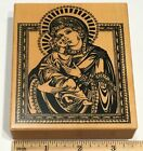 PSX K3529 Madonna Child Mary Baby Jesus Nativity Christmas Rubber Stamp