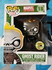 Metallic Ghost Rider SDCC 2013 Exclusive 480pc LE Funko Pop *Damaged box