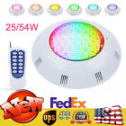 RGB LED Swimming Pool Light With Remote Control 25w 54w Pool  Spa Lights AC12V