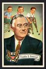 1956 Topps US Presidents Trading Cards 4