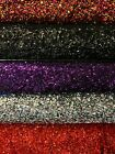 11 Colors Stephanie Sequins on Stretch Velvet Fabric by the Yard