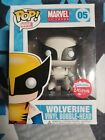 Wolverine 05 Black And White Fugitive Toys Exclusive Marvel Funko Pop