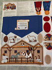 Cut  Sew Cranston Keepsake Crafts VIP Fabric Christmas Nativity Scene Panel