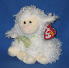 TY FLOXY the LAMB BEANIE BABY - MINT with MINT TAGS