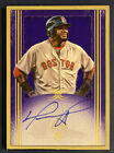 David ORTIZ 2017 Topps Definitive Collection Framed On-Card Auto 5 10🔥Red Sox