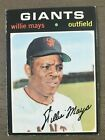 Vintage Willie Mays Baseball Card Timeline: 1951-1974 122