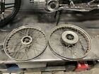 PUCH MOPED MAXI MAGNUM NEWPORT CHROME FRONT AND REAR RIMS