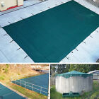 NEW 16x32 FT Green Winter Rectangular Inground Swimming Pool Cover Safety
