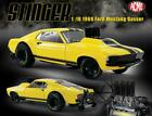 GMP 18932 B 1969 Mustang Gasser Stinger Yellow Black Diecast Car 118 Limited