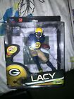 McFarlane NFL Series 34 Eddie Lacy Green Bay Packers Silver Level Chase Variant