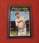 2020 Topps Heritage J.T. Realmuto Auto Real One Autograph SP Phillies