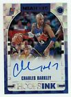 2018 Panini NBA Hoops Charles Barkley Auto Red Parallel # 25 SP Autograph Suns
