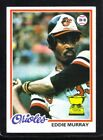 Eddie Murray Cards, Rookie Cards and Autographed Memorabilia Guide 9
