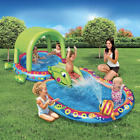 NEW Shade N Slide Turtle Splash Pool by Banzai