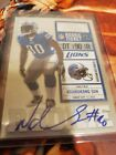 2010 Ndamukong Suh Playoff Contenders Rookie Ticket Autograph