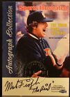 1999 Fleer MARK FIDRYCH BIRD Sports Illustrated Greats of Game Autograph AUTO NM