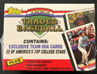 1993 TOPPS TRADED COMPLETE FACTORY SEALED 132 CARD SET, TODD HELTON RC