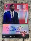 Joel Embiid 2014-15 Certified Red Rookie Roll Call RC Auto 02 25 Autograph MVP?