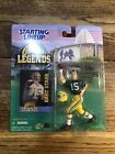1998 Bart Starr Green Bay Packers NFL Legends Hall of Fame Starting Lineup.