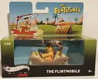 THE FLINTSTONES  FLINSTONES FLINTMOBILE WITHFRED  BARNEY 1 50 HOTWHEELS MODEL